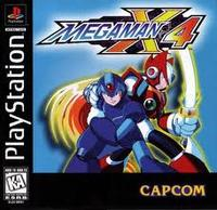 Mega Man X4 (Playstation Game)
