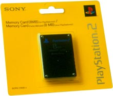 Sony PlayStation 2 Memory Card 8MB