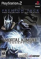 Mortal Kombat Deception Premium Pack (PS2)