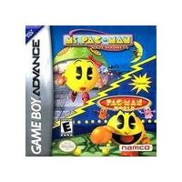 Ms Pac-Man Maze Madness and Pac-Man World (GBA)