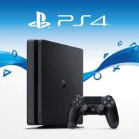 Sony PlayStation 4 Slim 500GB - PS4 Jet Black Console