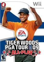 Tiger Woods PGA Tour 09 All-Play (Wii)