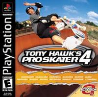 Tony Hawk's Pro Skater 4  (Playstation)