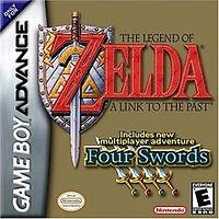 Zelda : A Link to the Past Four Swords (GBA)